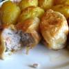Mleté maso v listovém těstě