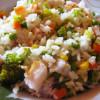 Recept na Zeleninové rizoto s treskou