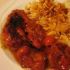 Recept na kuřecí stehna s bazalkou
