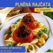 Plněná rajčata se špagetami
