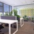 Návrh interiéru kanceláře