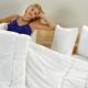 Nemůžete spát horkem? Dejte posteli novou výbavu!