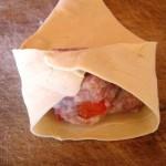 Mleté maso v listovém těstě 2