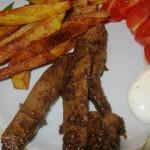 Recept na pikantní vepřová játra