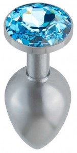 anální šperk modré barvy