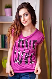 módní tričko
