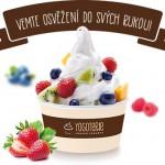 Výtečný a zdravý frozen yogurt vám zachutná i osvěží lépe, než kterákoli zmrzlina!